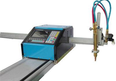 Bärbar CNC Flame Plasma cutter, flam plasma gas skärmaskin