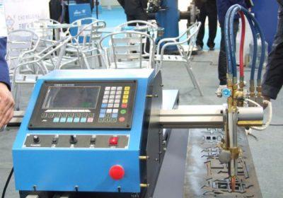 Gantry Typ Dubbeldriven CNC Flame Plasma Cutting Machine i försäljning