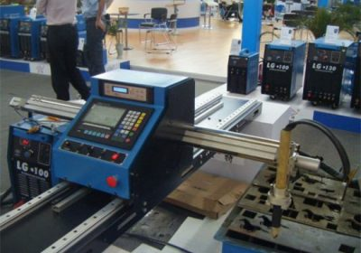 Gantry typ bärbara mini cnc plasmaskärare rör metall skärmaskin