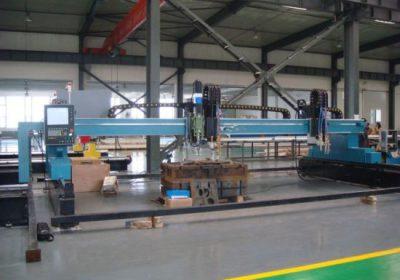CNC gantry plasma flamskärmaskin för järnmetallplåt