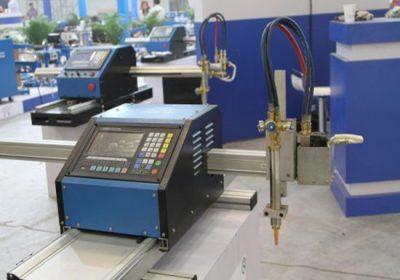 Både metallplåt och metallrör CNC-skärmaskin, med både plasmaskärning och oxy-bränsle skärbrännare