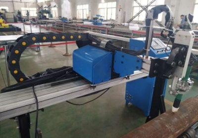 Rörskärning cnc plasma maskin för stålmetall järn rostfritt stål