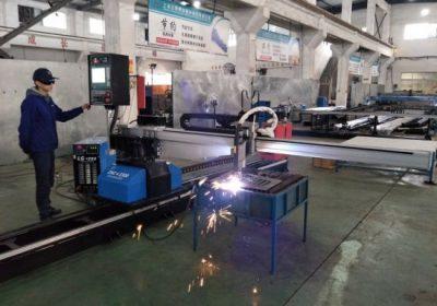 CNC bärbar plasma flamskärmaskin från Kina med fabrikspris