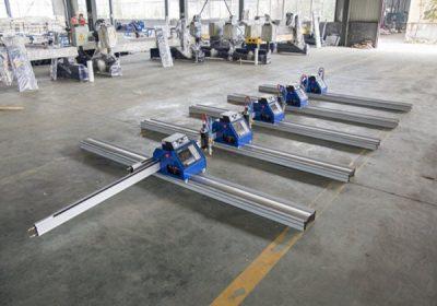 CNC Gantry-typ plasma skärmaskin / plasma skärmaskin metallplåt