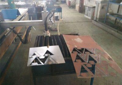 Cnc plasmaskärare / kvadratrör rund stålrör cnc plasmaskärmaskin